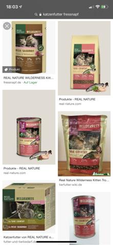 Was haltet ihr von dem Katzen Futter?
