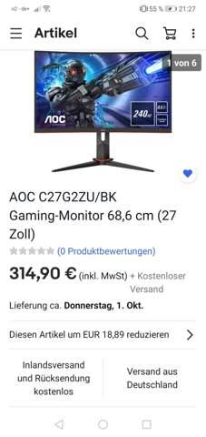 Was haltet ihr von diesem Bildschirm?