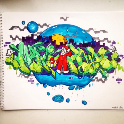 Was Haltet Ihr Von Diesem Graffiti Zeichnen Sprayen