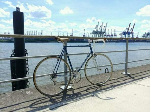 Was haltet ihr von diesem Vintage Rennrad?