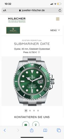 Was haltet Ihr von diesen Rolex Uhren?