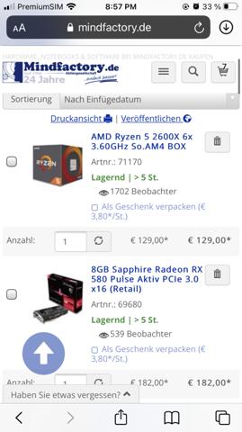 Was haltet ihr von dieser 500€ Konfiguration?