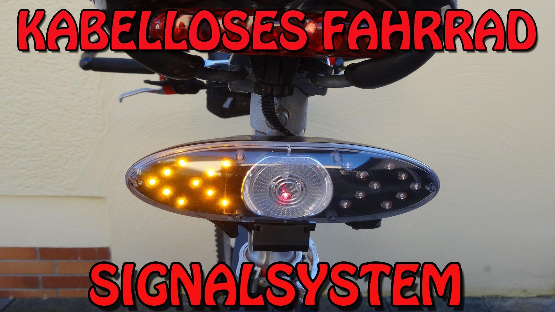 was haltet ihr von einen fahrrad blinker