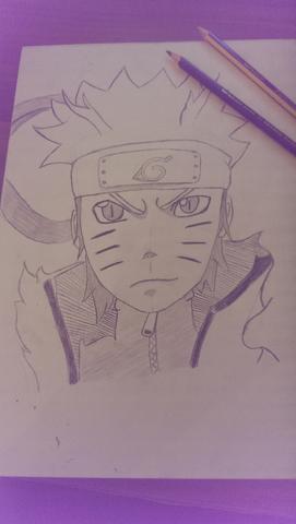 Meine erste Naruto Zeichnung - (Manga, Kunst, zeichnen)