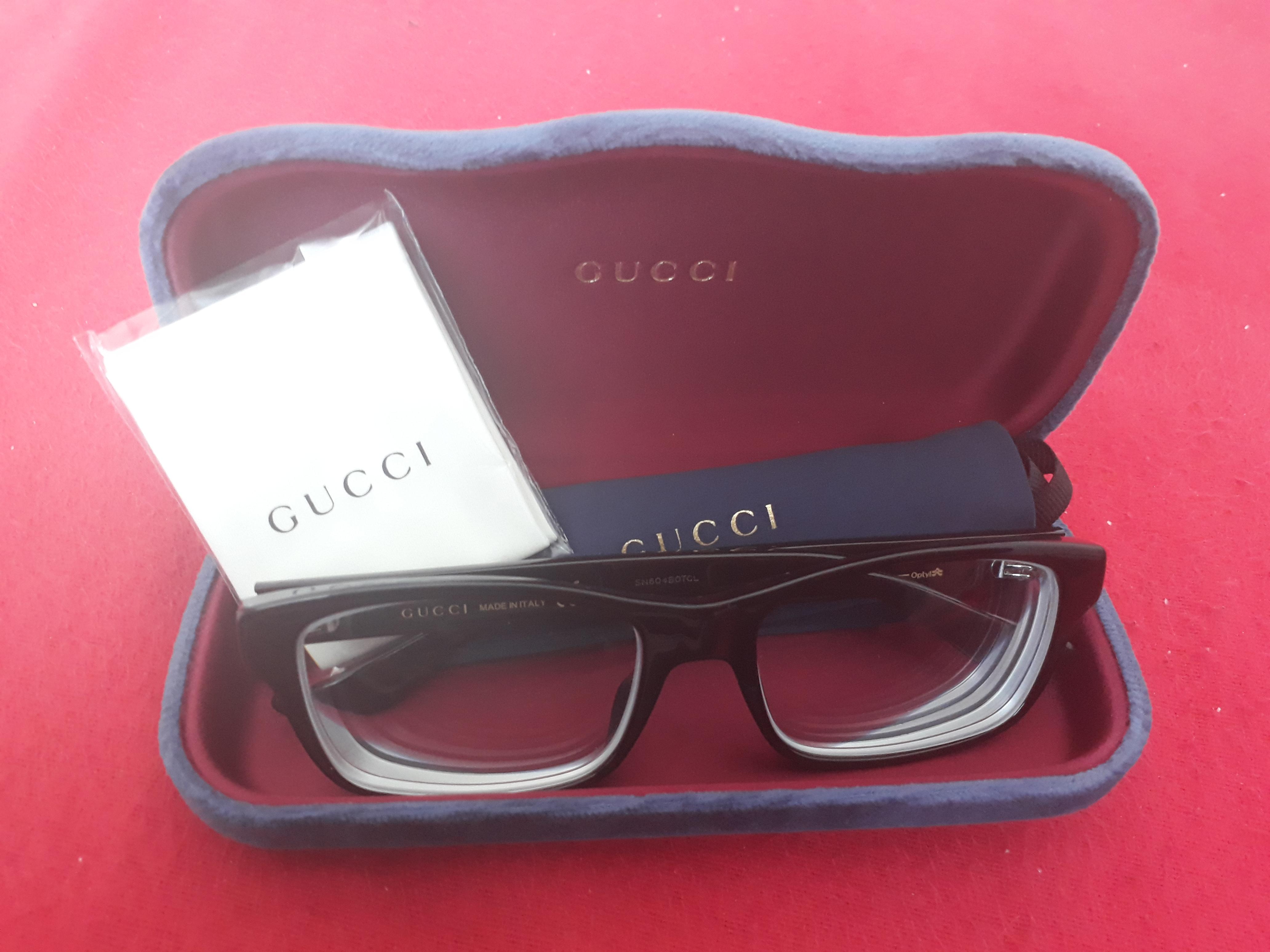 was haltet ihr von meiner brille? (Augen, Gucci)