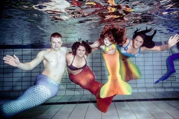 Was haltet ihr von Mermaiding?