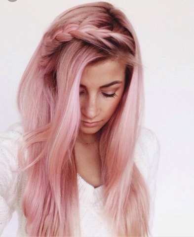 Was Haltet Ihr Von Pinken Haaren Mädchen Haare Beauty