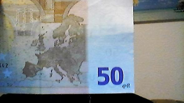 Komischer 50 Euro Schein - (Geld, Euro)