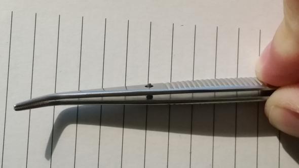 Pinzette - (Loch, Stift, Pinzette)