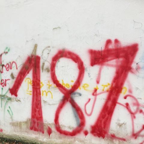 187 Graffiti  - (Film, Kunst, Bedeutung)
