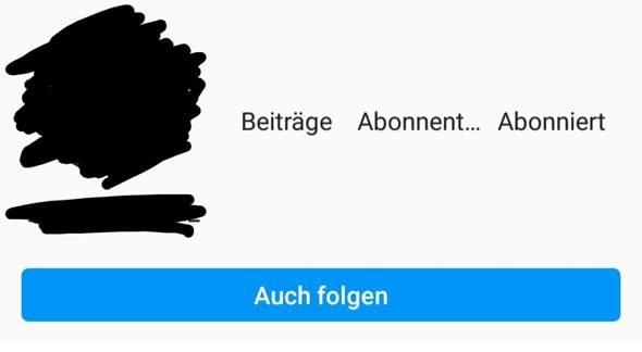Was hat Instagram für ein Account Problem?