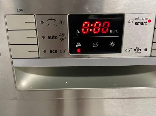 Was hat meine Spülmaschine?