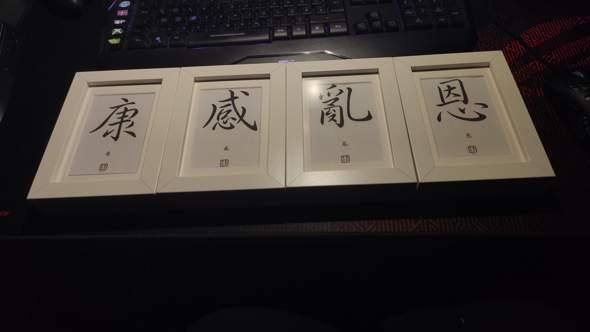 Was heißen die Japanischen Schriftzeichen?