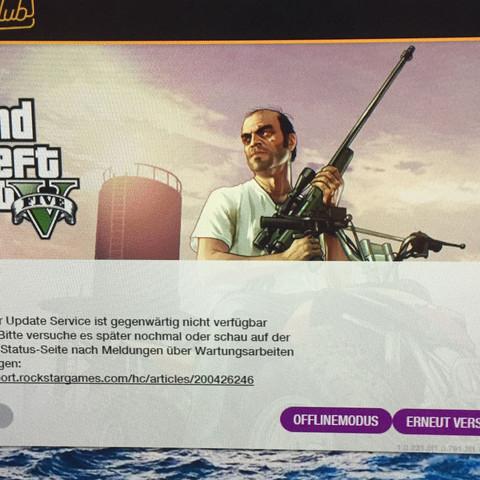 Ich spiele nicht online  - (GTA 5, rockstar)