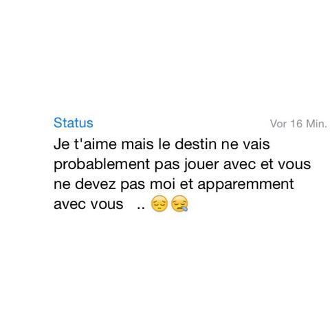 Whatsapp  Status - (Übersetzung, französisch, Übersetzer)