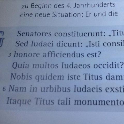 In zeile 2 u. 4 - (Uebersetzung, Latein, Wort)