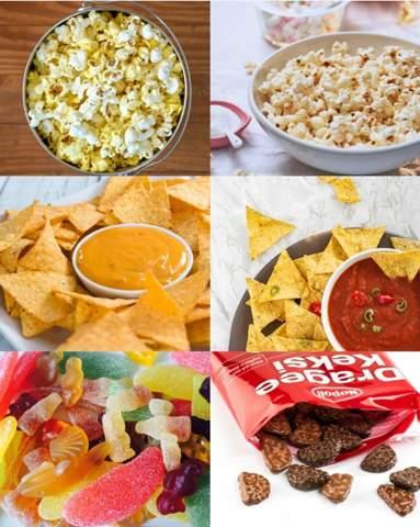🍫Was isst du am liebsten im Kino 🍿?