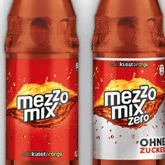Mezzo Mix ohne Zucker.  - (trinken, gesund, Cola)