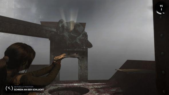 Was ist da los xD - (Bug, Tomb Raider, Spielfehler)