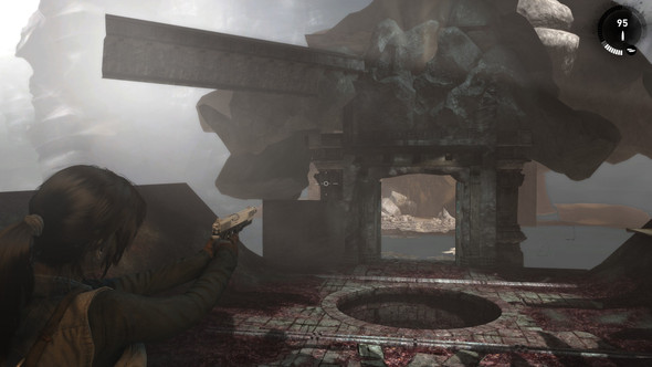 NICE BUG - (Bug, Tomb Raider, Spielfehler)