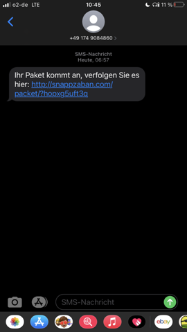 Woran merkt man dass man blockiert wurde sms