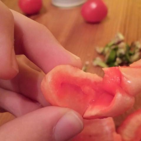 WAS IST DAS #2 / in einer Paprika gefunden? (rot)