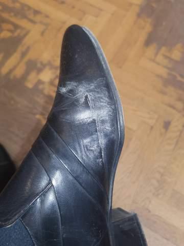 Was ist das beim Schuh?