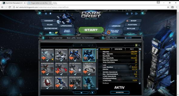 Meine Raumschiffe - (RPG, Weltraum, Schiff)