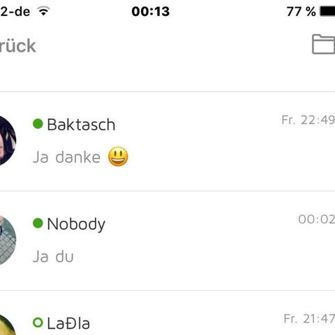 Dating-Chat-Apps fГјr iphone