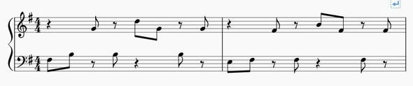 Notenbeispiel - (Musik, Akkorde, Harmonielehre)