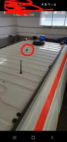 Was ist das für ein Anschluss an meinem Rettungswagen?