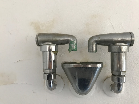 Was ist das für ein Ausguss im Badezimmer?