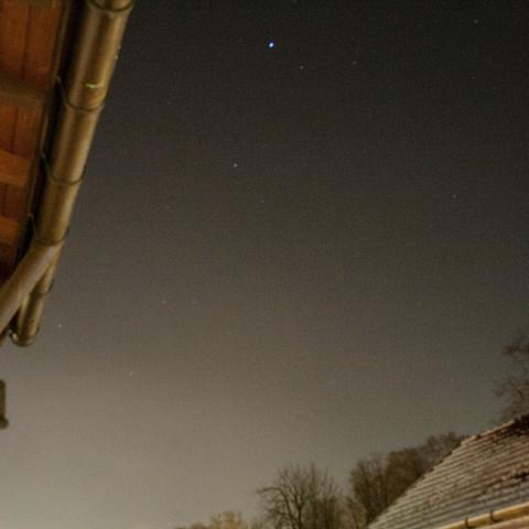 Was ist das für ein blauer heller Stern?