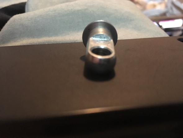 Schaft mit Loch - (Metall, Zerspanungsmechaniker, Bolzen)