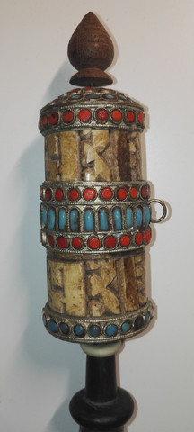 """Die """"trommel"""" lässt sich drehen - (Produkte, Antiquitäten, Antik)"""