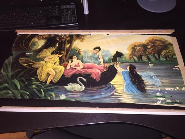 Was für ein Gemälde, welcher Künstler und den Wert - (Bilder, Kunst, Wert)