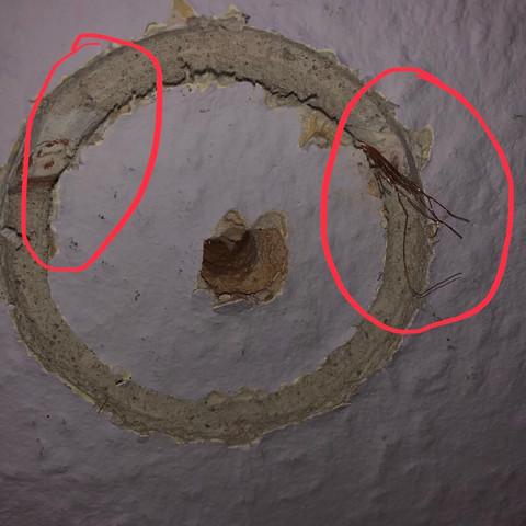 Was ist das für ein Kabel in der Wand, frage für Elektriker ...