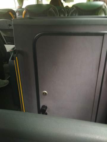 Was ist das für ein Kasten im Bus?