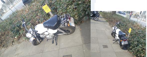 -- - (Motorrad, Verkehr)