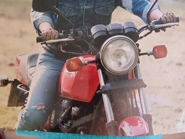 Was ist das für ein Motorrad/eine Kawasaki?