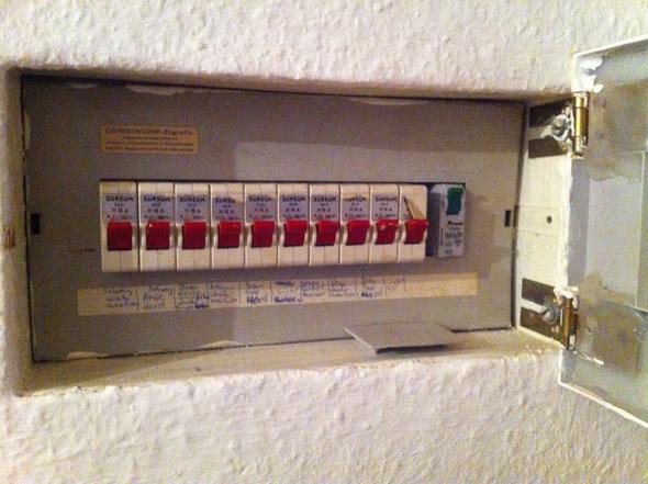 Sicherungskasten aus 1969 - (Strom, Elektrik, Sicherung)