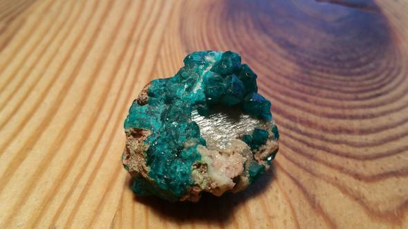 Die Kristalle  - (Freizeit, Steine, dioptas)