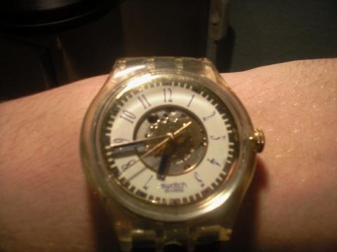 Vorderseite - (Schweiz, Uhr, swatch)