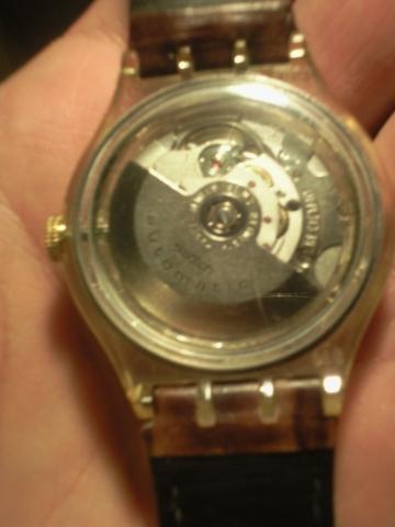 Rückseite - (Schweiz, Uhr, swatch)