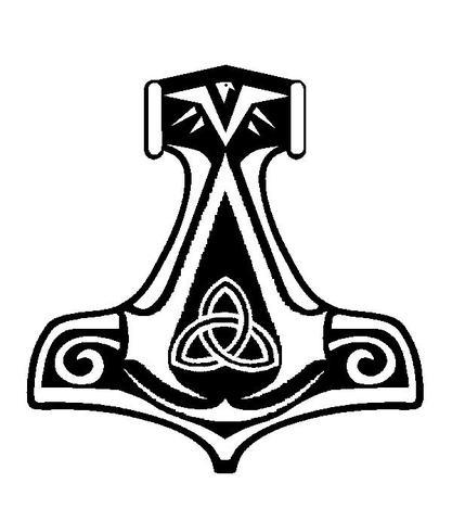 Was Ist Das Fr Ein Symbol Auf Thors Hammer Thor