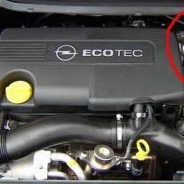 Was ist das für ein Teil im Motorraum meines Opel Astra ?