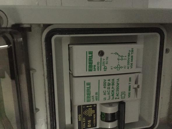 Sicherung - (Strom, elektro, Steckdose)