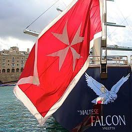 """Die rote Flagge mit dem weissem """"Stern"""" - (rot, weiß, Boot)"""