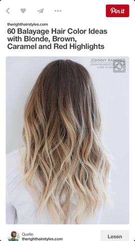 Haarfarbe  - (Haare, Haarfarbe)