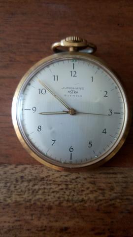 Junghans Taschenuhr - (Uhr, Taschenuhr)